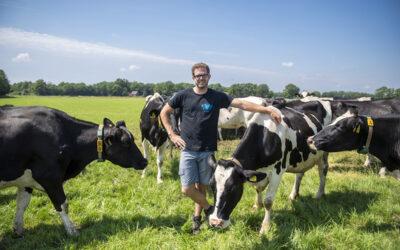 Agrohub Twente onderzoekt met  familie Hamzink toekomst van melkveebedrijf